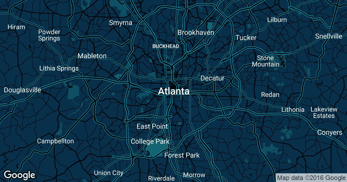 Buckhead Zip Code Map.Atlanta Uber Prices Historical Rates