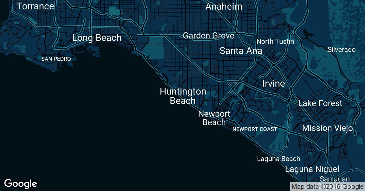 Huntington Beach Uber Prices Historical Rates