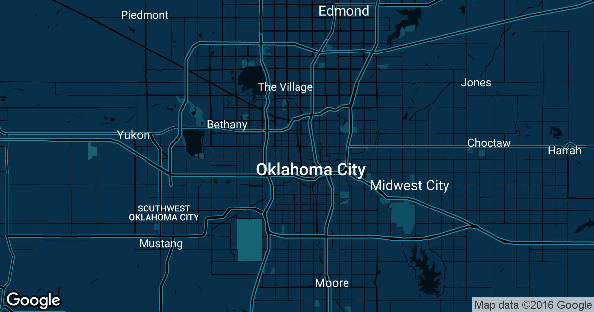 Oklahoma City Uber Prices Historical Rates