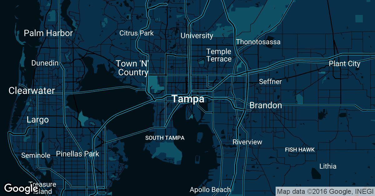 Tampa Uber Prices & Historical Rates
